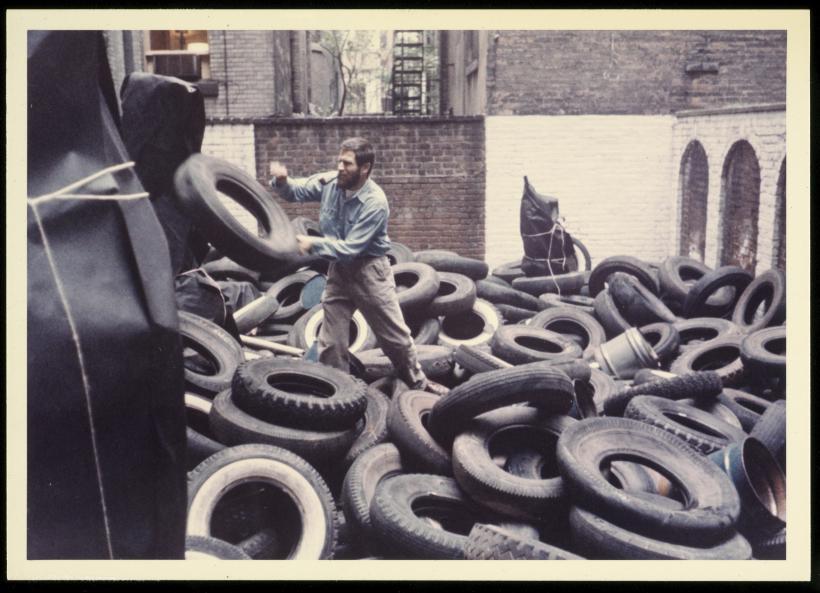 Allan Kaprow, 'Yard' (1961)