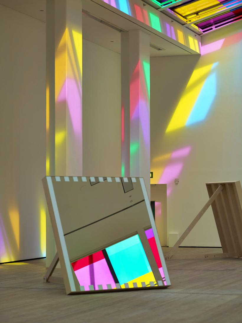 Daniel Buren, Catch as catch can: work in situ, 2014, BALTIC Centre for Contemporary Art