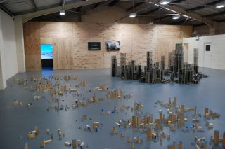 Cities of Ash, Installation View, g39 Cardiff (2014)