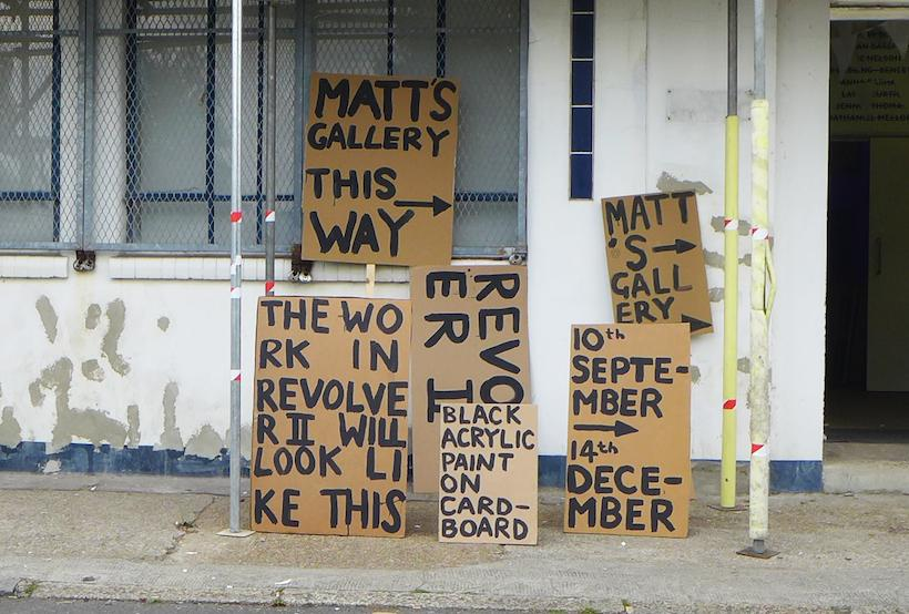 Peter Liversidge, The Sign Paintings (2014)