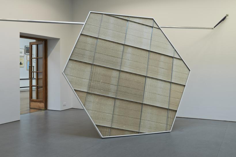 Portal fragment (2012/2014), installation view at Limerick City Art Gallery.