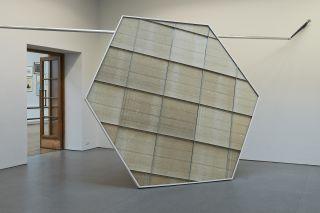 Portal fragment (2012/2014), installation view at Limerick City Art Gallery.