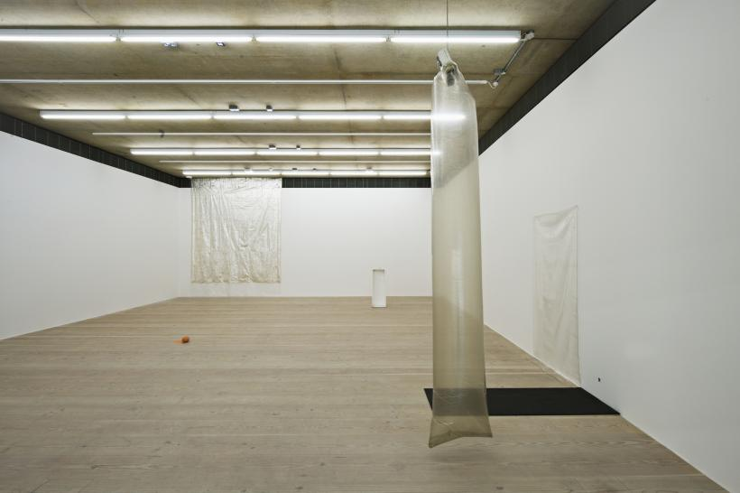 Ian Kiaer Tooth house, 2014, Focal Point Gallery,  Installation View