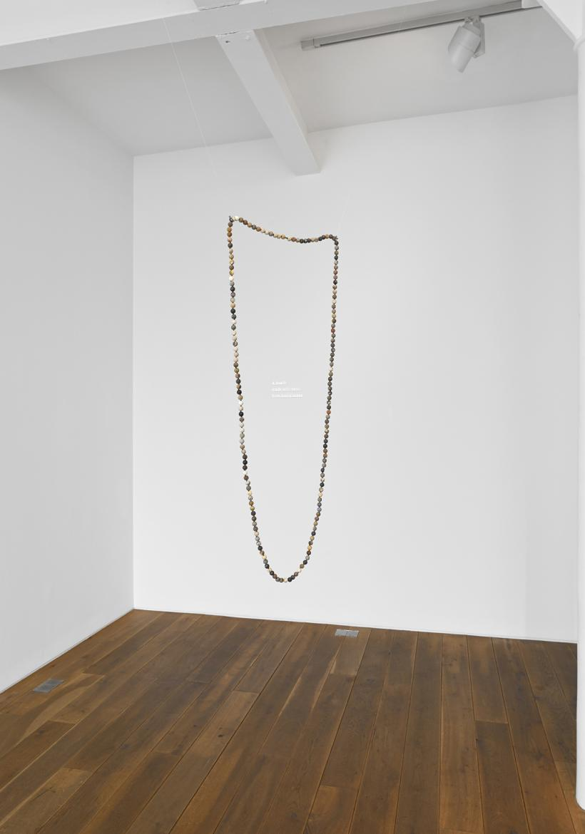 Installation view of Katie Paterson's solo exhibition 'Ideas', Ingleby Gallery, Edinburgh (2014)
