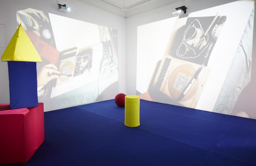 Installation view of the exhibition Propositions, Irish Museum of Modern Art