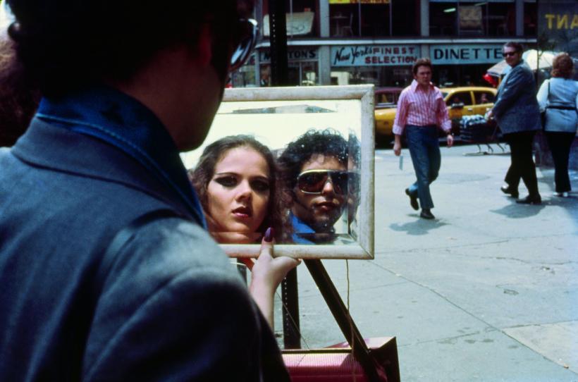 Still from the Super 8mm film Agrippina is Rome-Manhattan, New York