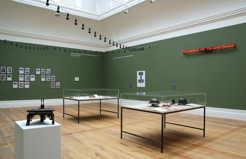 WAR, Installation View at MOSTYN (2014)