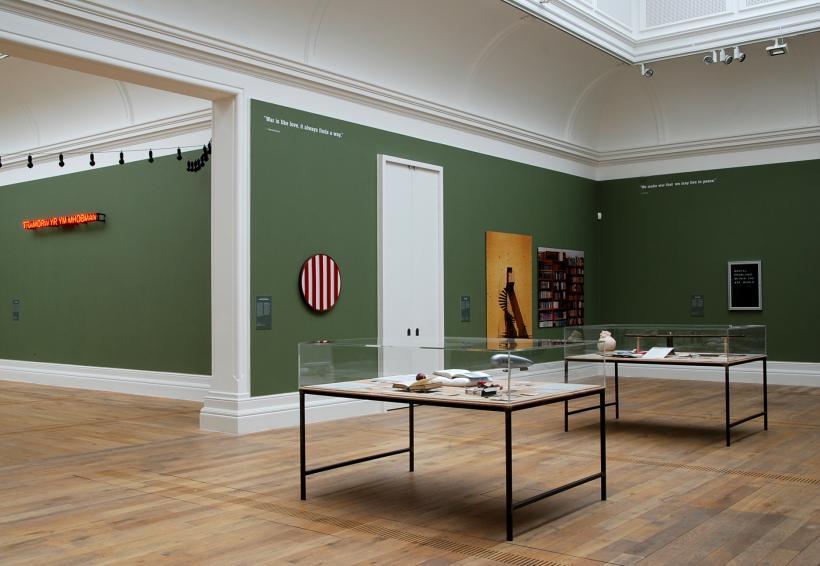 WAR, Installation View at MOSTYN (2014)