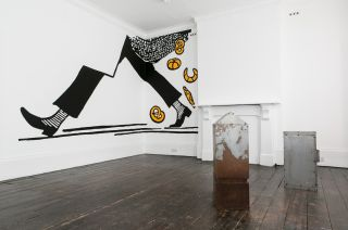 Sophie Lee, Installation view of 'Sugars, Protein and Salt (Perfect Fried II)' at Gowlett Peaks, London