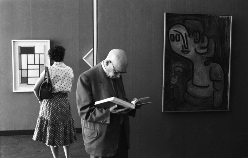 Photographic Notes, documenta 2, Mondrian, Klee, 1959