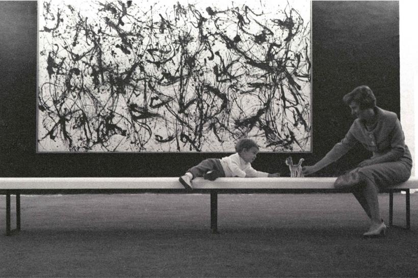 Photographic Notes, documenta 2, Pollock, Bench Child, 1959