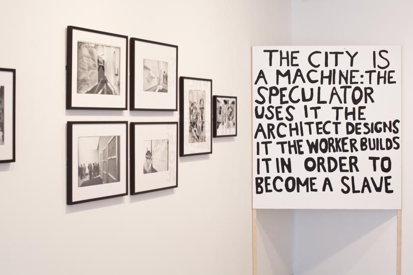 Not all Documents are Records: Photographing Exhibitions as an Art Form, Installation view at Open Eye Gallery (2014)
