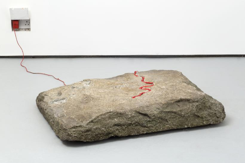 Untitled (shaky blood stone)
