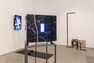 'Tomb, Shrine, Survey-Marker, Spare Part', installation view at Enclave, London 2014