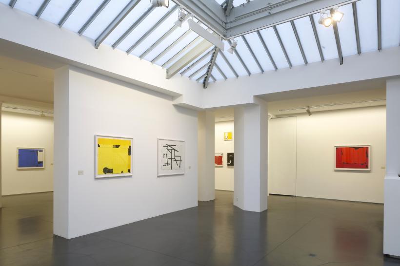 Installation view Galerie Jaeger Bucher