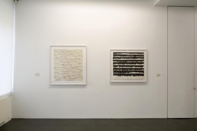 Installation view Galerie Jaeger Buche