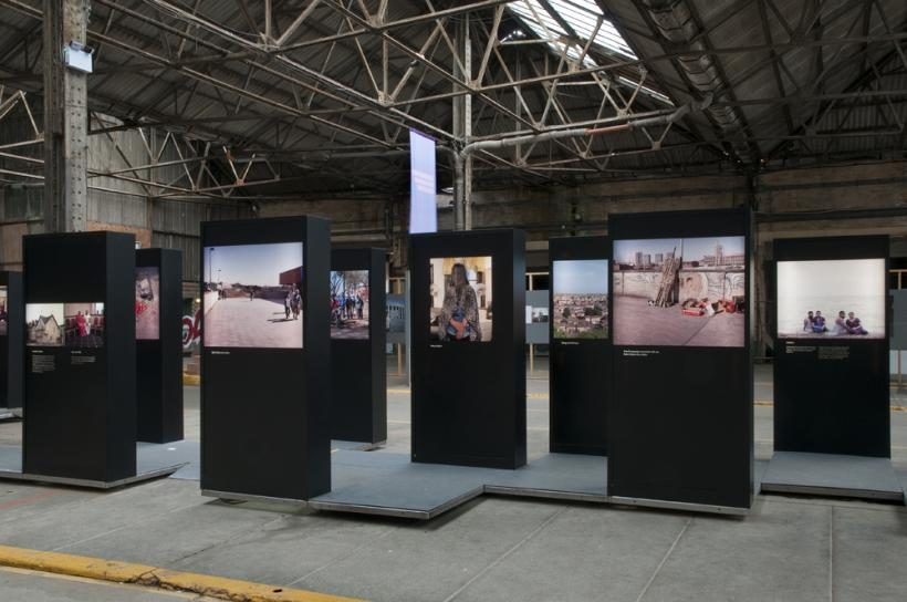Installation View, A Return To Elsewhere, Brighton Photo Biennial 2014