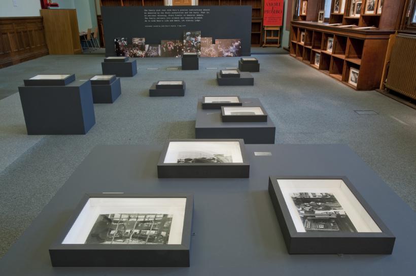 Installation View, Amore e Piombo, Brighton Photo Biennial 2014