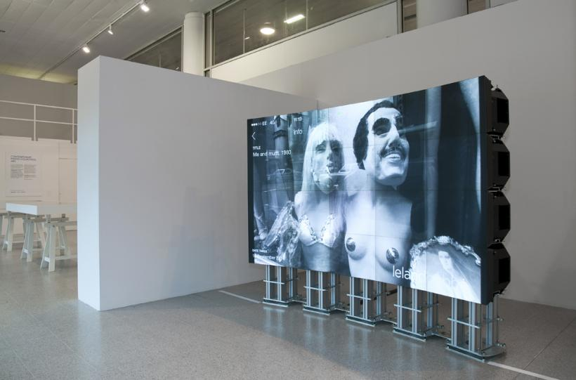 Installation View, Erica Scourti, Brighton Photo Biennial 2014