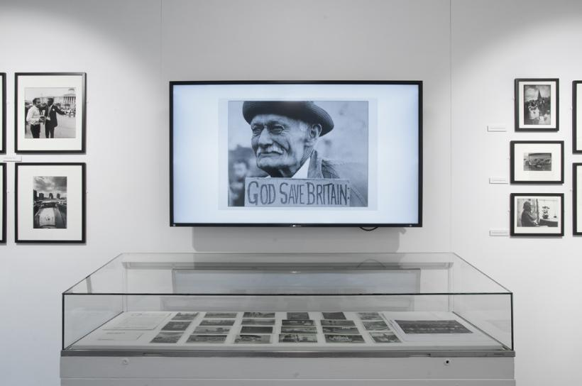 Installation View, Co-optic Real Britain, Brighton Photo Biennial 2014