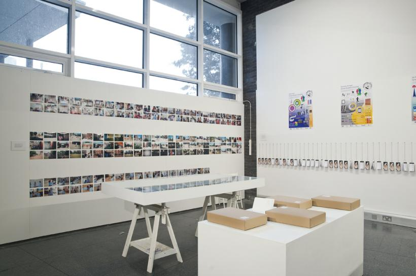 Installation View, Mass Education Project, Brighton Photo Biennial 2014