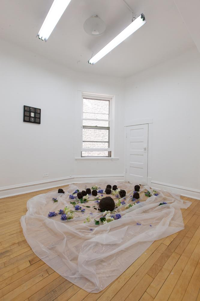 Jared Madere, Untitled, Installation View at Nightclub (2014)