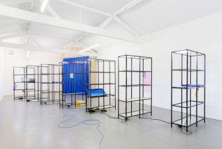 Yuri Pattison, 'free traveller' (2014), Cell Project Space