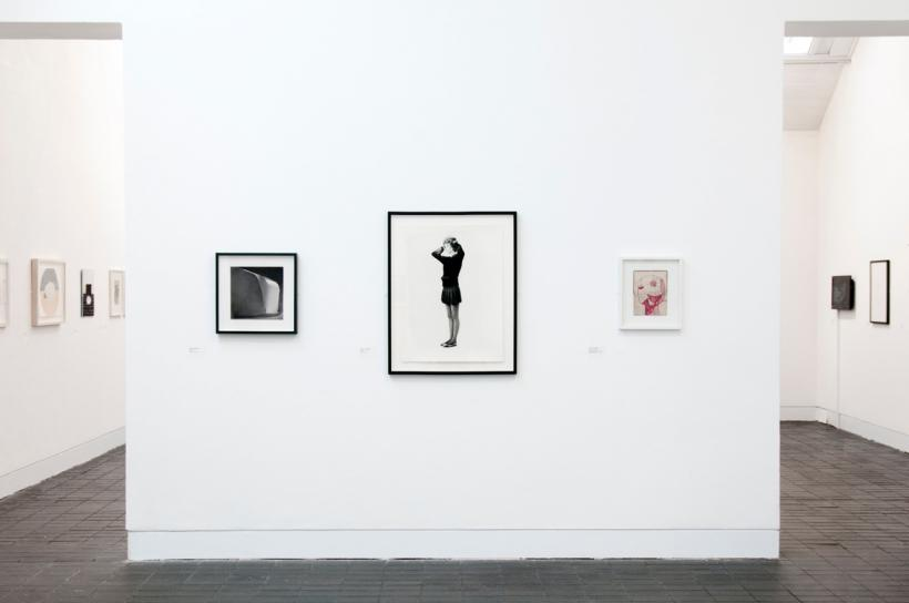 Installation view, Jerwood Drawing Prize 2014. Courtesy Jerwood Drawing Prize