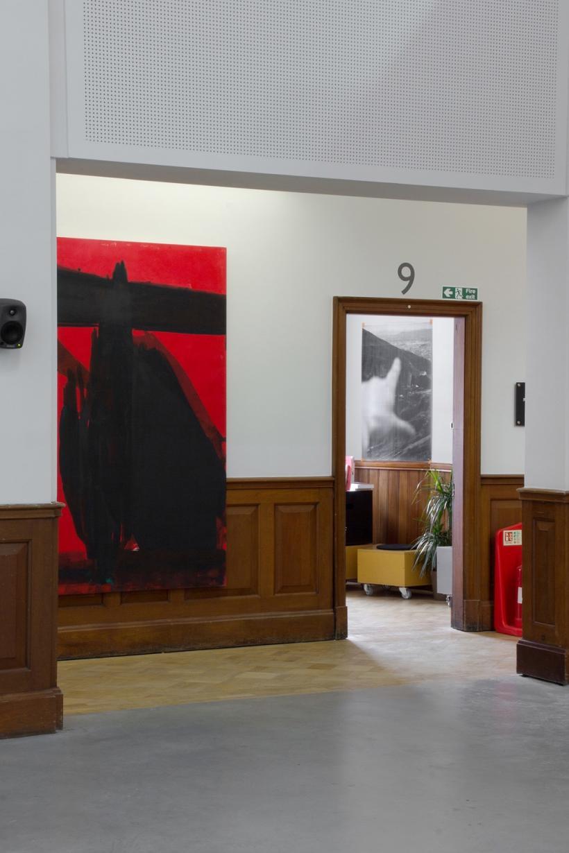 Atrium, installation view