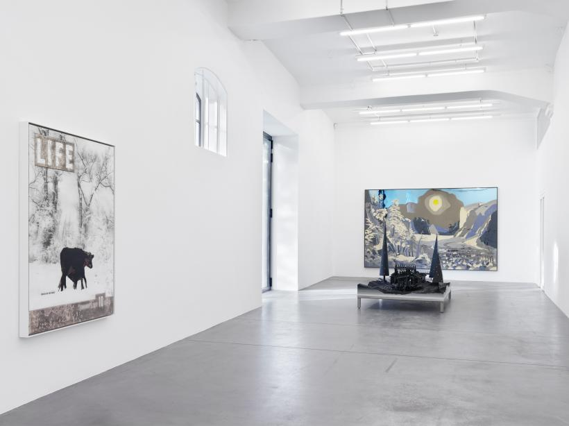 Installation view, Matthew Day Jackson. Family, Hauser & Wirth Zurich
