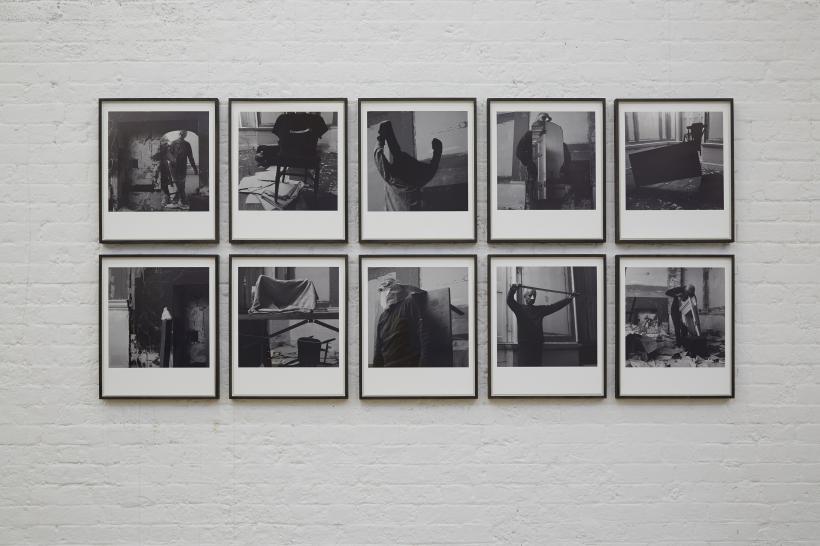 Stuart Brisley: Before the Mast (2013-14)