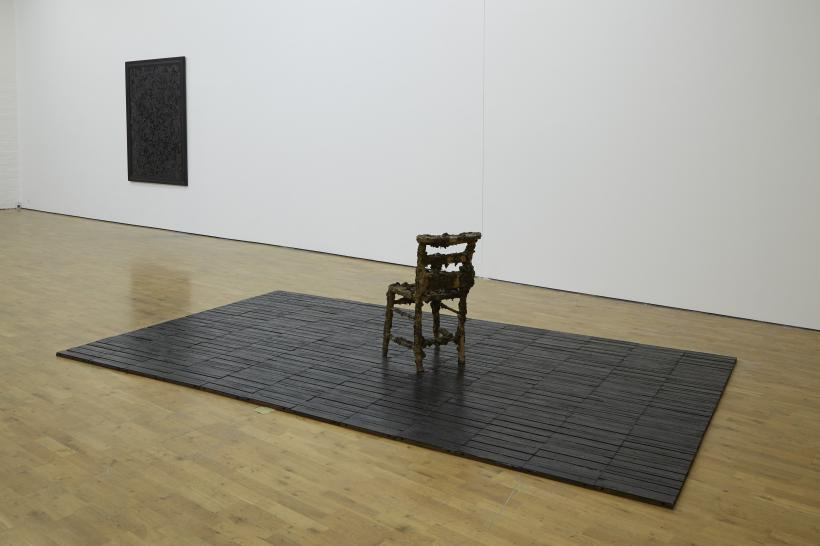Stuart Brisley: State of Denmark, Installation view, Modern Art Oxford Piper Gallery (2014)
