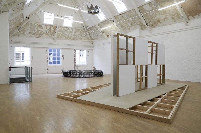 Stuart Brisley: State of Denmark, Installation view, Modern Art Oxford Upper Gallery (2014)