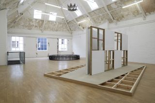 Stuart Brisley: State of Denmark, Installation view, Modern Art Oxford Upper Gallery (2014)