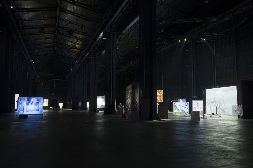 Installation view, HangarBicocca