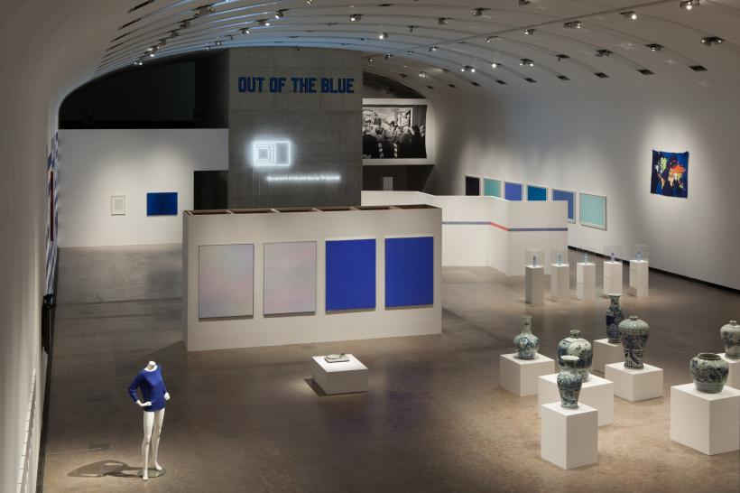 Installation view: Blue Times, Kunsthalle Wien (2014)