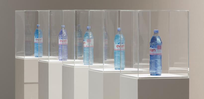 Pamela Rosenkranz, [Title TK], Installation view: Blue Times, Kunsthalle Wien (2014)