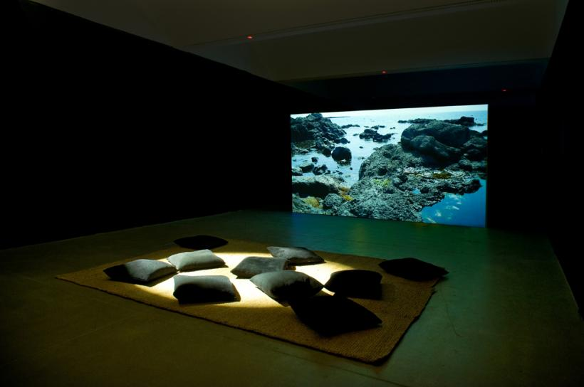 Mikhail Karikis, SeaWomen (2012) Listening installation view (2014)