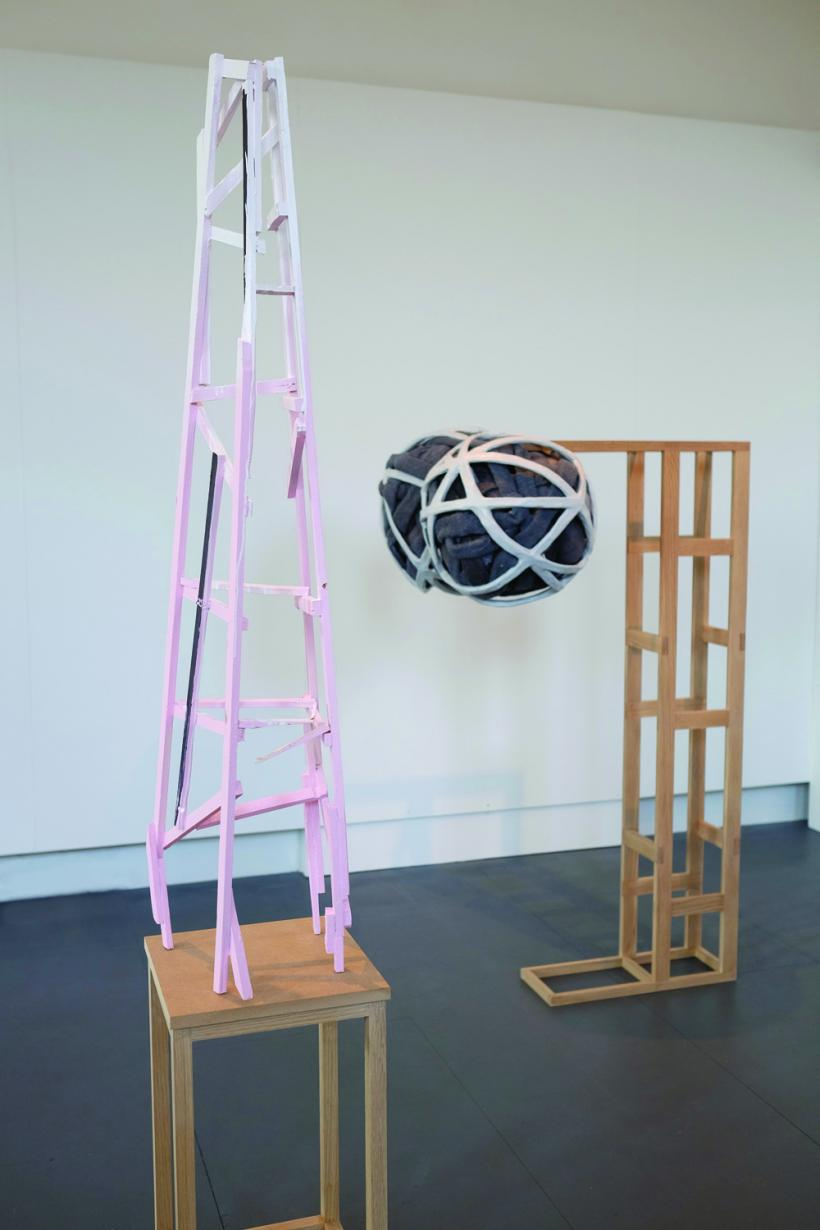 Emma Donaldson, Making Trouble installation view (2014)