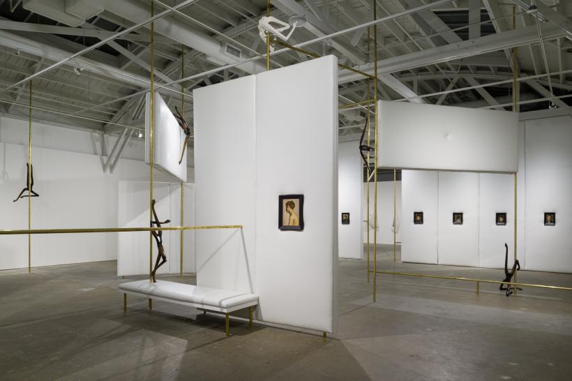 Markus Schinwald, installation view. CCA Wattis Institute for Contemporary Arts