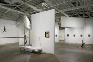 Markus Schinwald, installation view. CCA Wattis Institute for Contemporary Arts