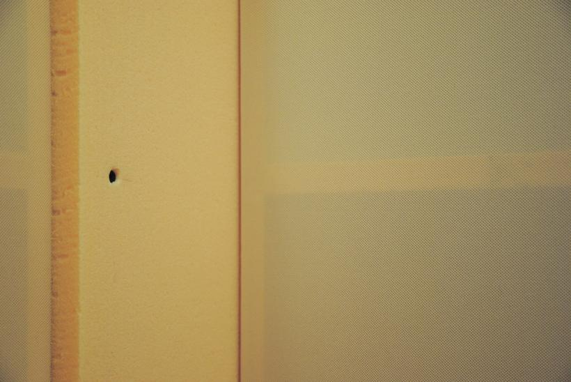 Ralf Brög, xf part 4: JB (canonic), installation detail at Drop City Newcastle (2014)