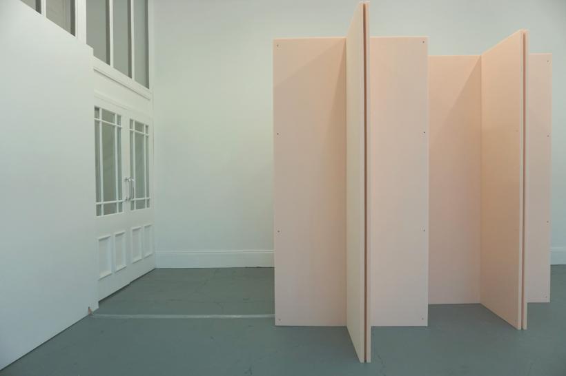 Ralf Brög, xf part 4: JB (canonic), installation view at Drop City Newcastle (2014)