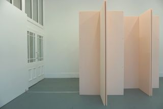 Ralf Brög, xf part 4: JB (canonic), installation view at Drop City Newcastle (2014)