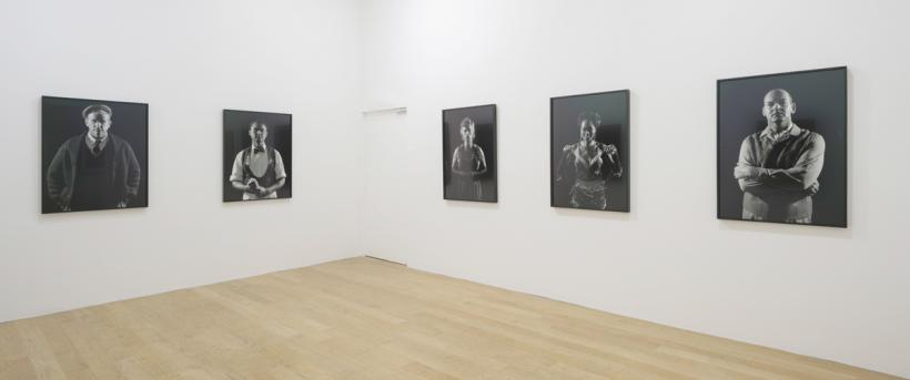 Installation view: Malabar People, Fruitmarket Gallery (2014)