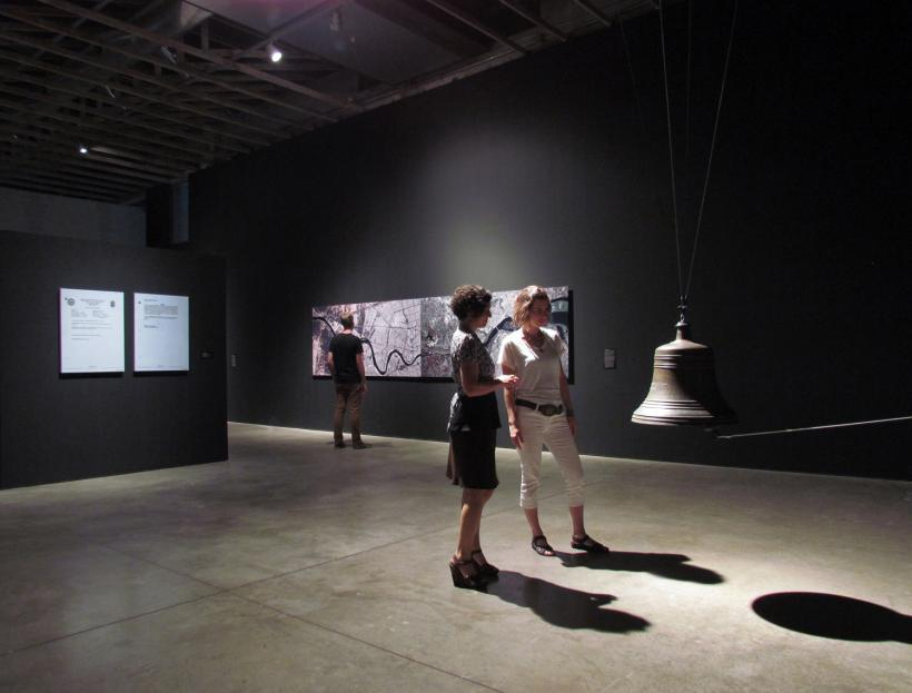 Installation view Covert Operations: Investigating the Known Unknowns