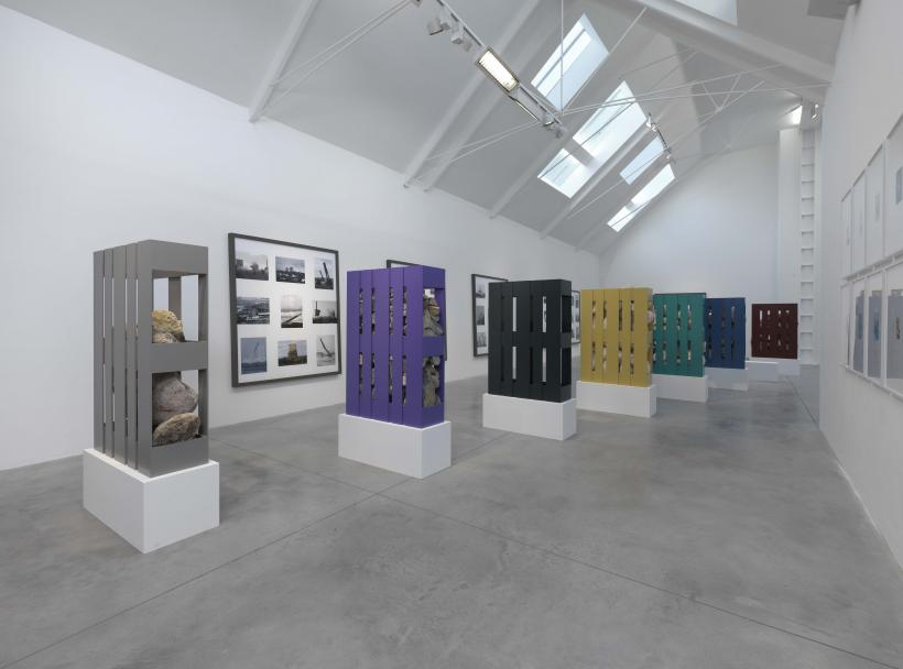 Jonathan Monk, I Heart 1984, installation view at Lisson Gallery, 2014