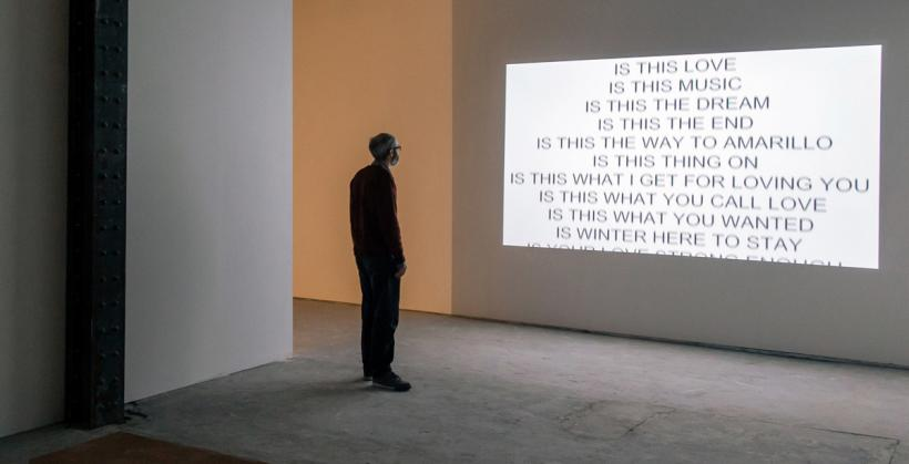 Graham Dolphin, 1000 Questions, 37 Pieces of Flair, Installation view at the NewBridge project (2014)