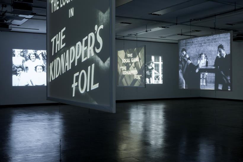 Installation view: Gareth Long, Kidnappers Foil, Kunsthalle Wien 2014, Photo: Stephan Wyckoff