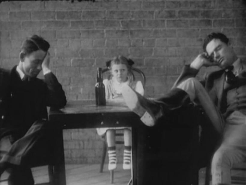 Gareth Long, Childress, Texas version (1936) of The Kidnappers Foil, filmed by Melton Barker, Photo courtesy of the Texas Archive of the Moving Image